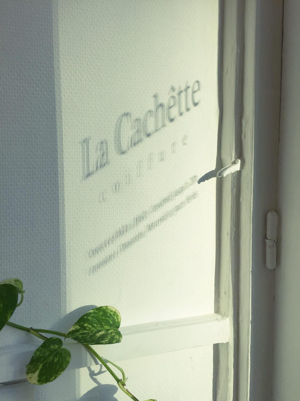 ラカシェット,La Cachêtte,パリ,Paris,ヘアサロン,美容室,美容院,日本人,日本語